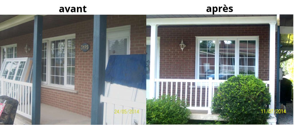 installation et changement de fenêtres à sherbrooke