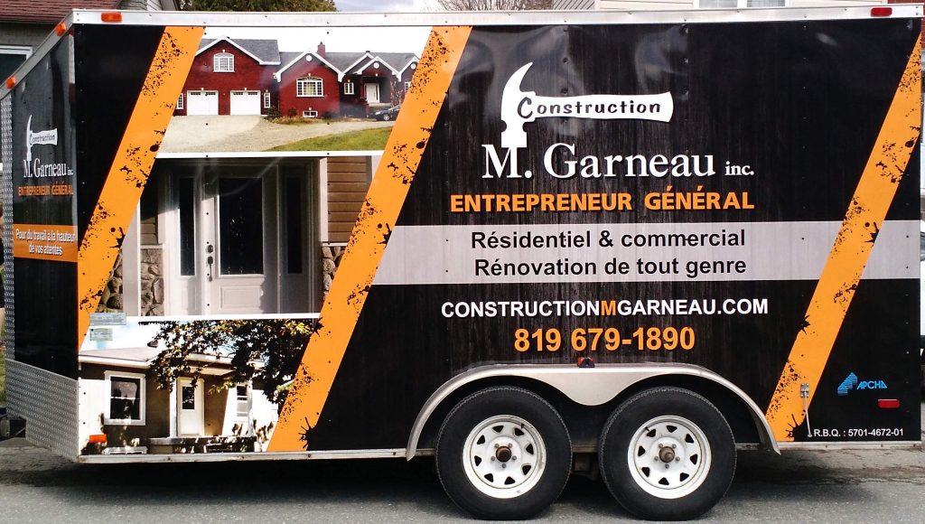 Entrepreneur en construction de Sherbrooke